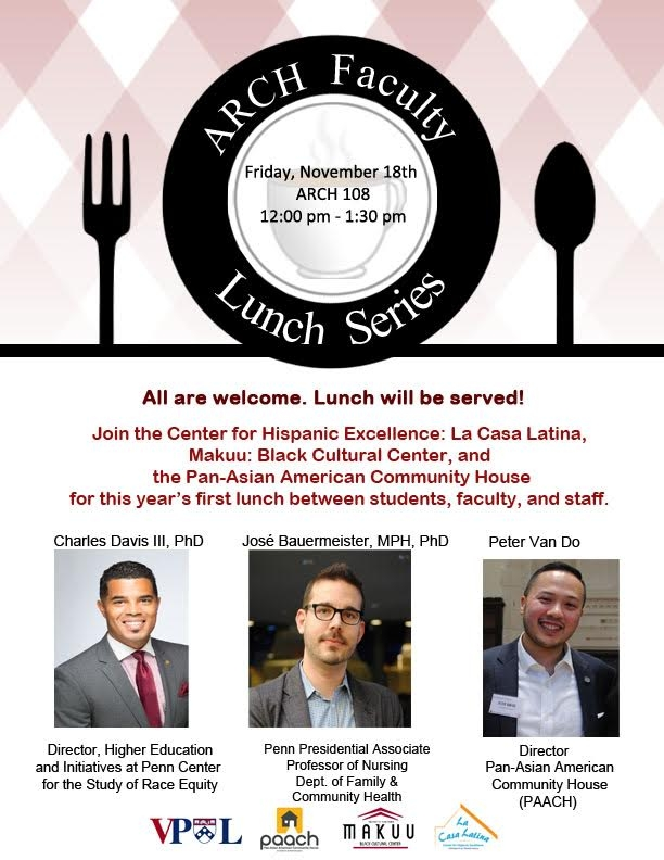 Arch Faculty Lunch